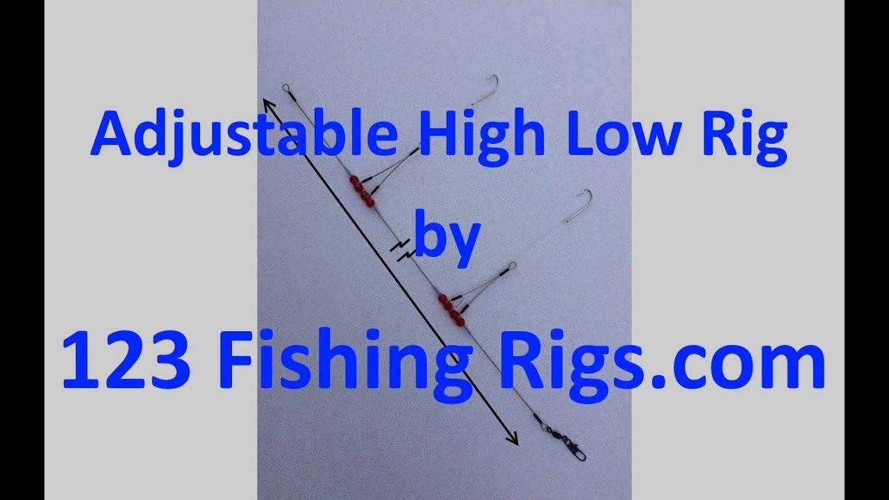 6 HI LO 2 ARM RIGS HIGH LOW TOP BOTTOM
