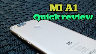 New Mi A1 Full Review 2017-18 Best Budget Phone Unboxing Camera Sample And Game Play