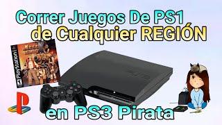 Jugar Juegos de ps1 en Ps3, Cualquier Región / NTSC, PAL, JPN / - almadgata