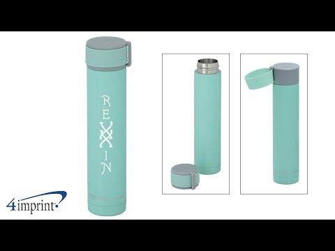 Skinny Mini Vacuum Bottle 8 oz - Custom Bottle by 4imprint