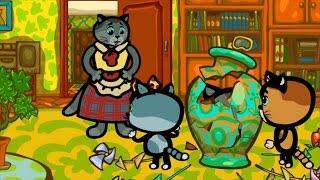 КОТЯТКИНЫ ИСТОРИИ - И расскажем сами | Мультфильм для маленьих | Три котенка