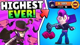 HIGHEST TROPHY MORTIS EVER! RANK 35 GAMEPLAY!! PRO SHARES SECRET MORTIS TIPS TO WIN EVERY MATCHUP!