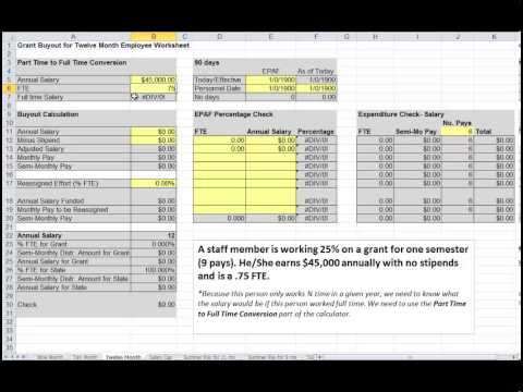 Grant Buyout Project File Part time