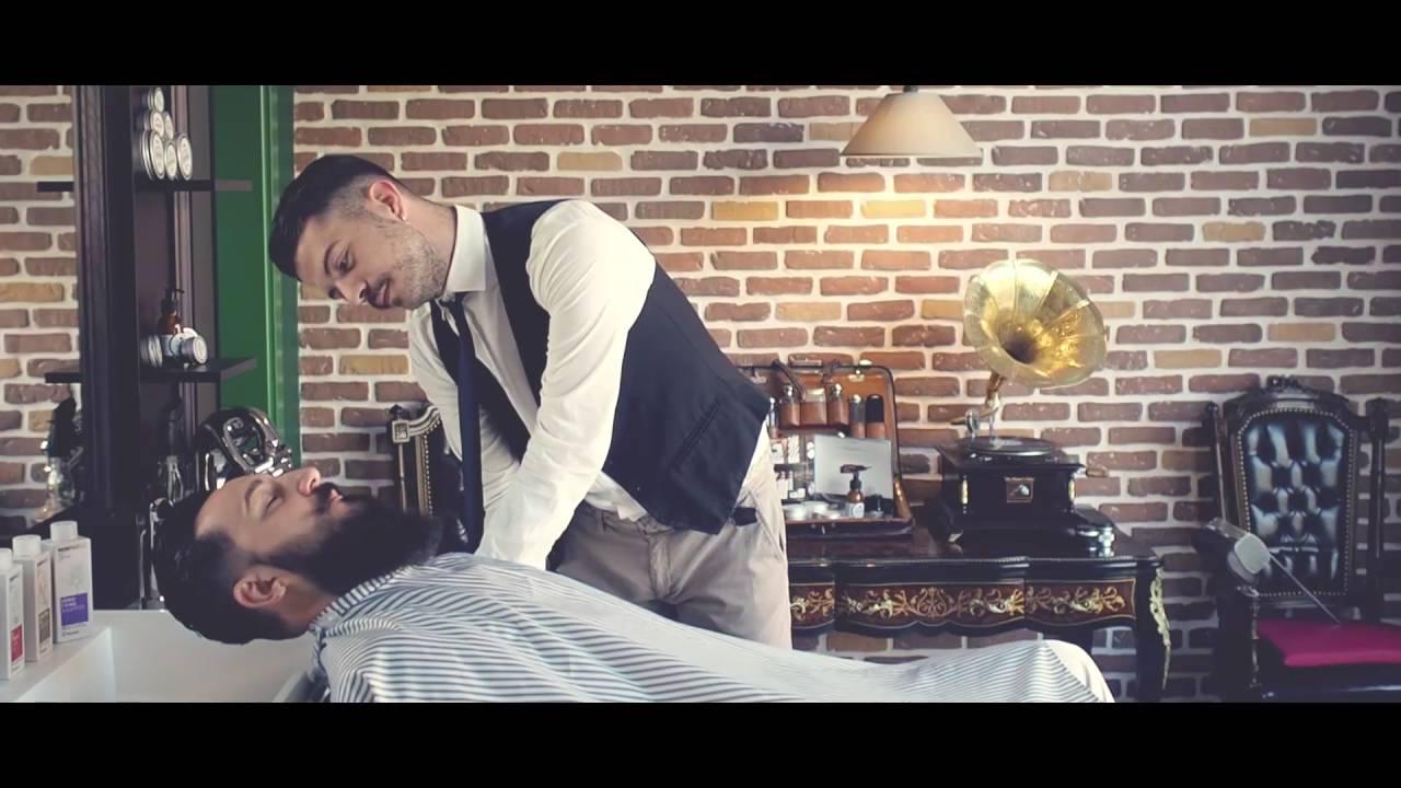 Realizzazione chapeau barber shop sen martin youtube for Sen martin arredo per barber shop