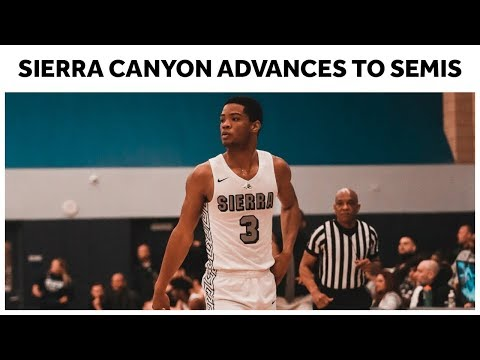 Sierra Canyon Beats St. John Bosco In Close Playoff Game - Full Highlights