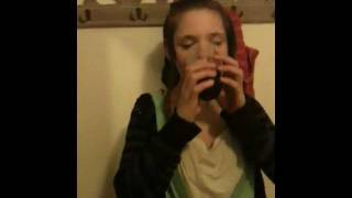 dared to drink vinger -funny being sick noises-