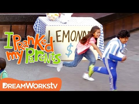 Lemonade Stand Robbery | I PRANKED MY PARENTS