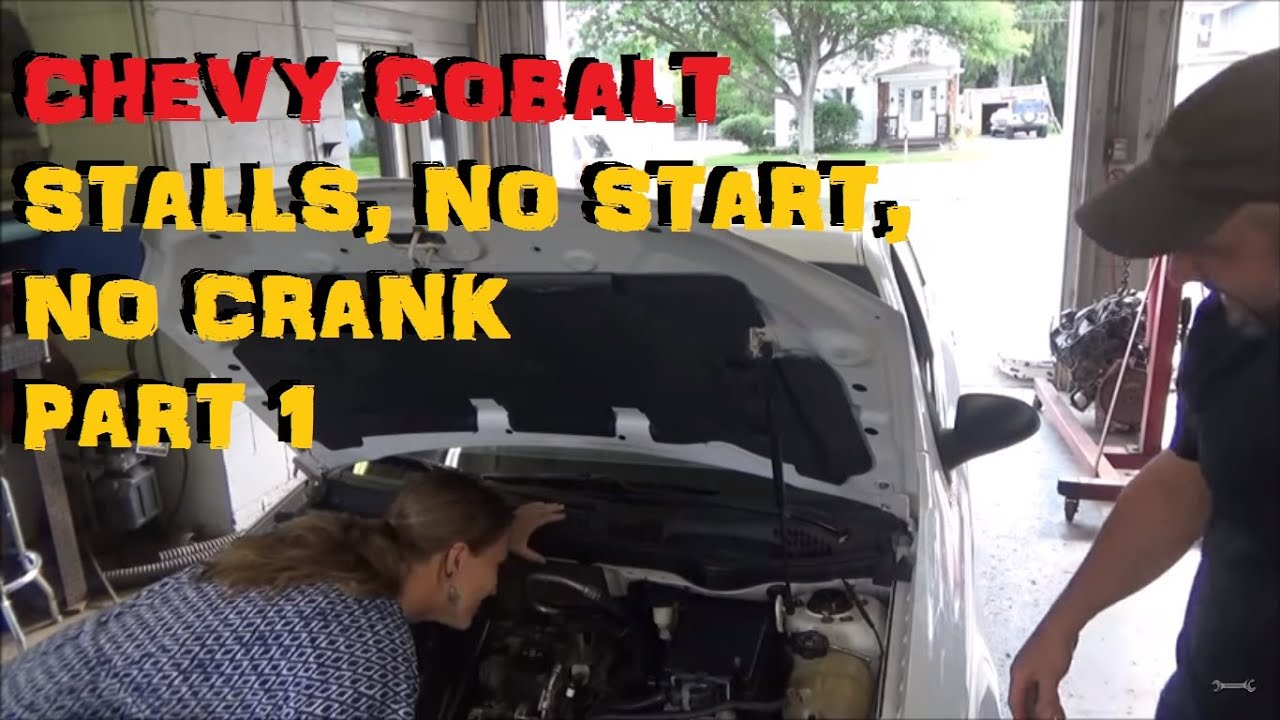 medium resolution of chevrolet cobalt no crank no start stalling bizarre problems part i