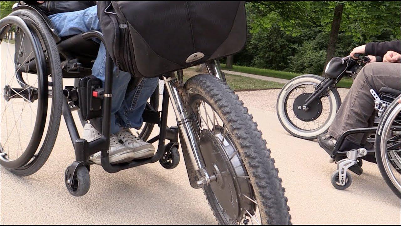 handbike tuning rollstuhl tandem rehability dresden youtube. Black Bedroom Furniture Sets. Home Design Ideas