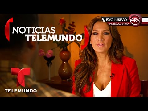 EXCLUSIVA: Esteban Loaiza niega que va a tener un hijo | Al Rojo Vivo | Noticias Telemundo