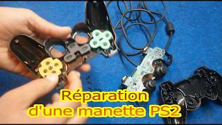comment reparer une manette playstation 2 PS2