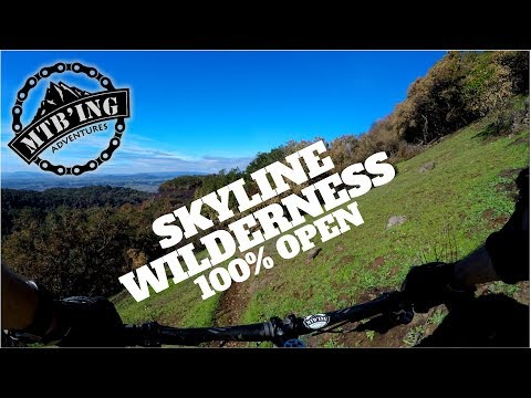 Skyline Wilderness (Napa, CA) Mountain Biking