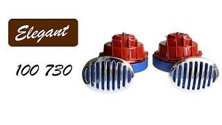 Elegant 100 730 — звуковой сигнал «улитка» — видео обзор 130.com.ua