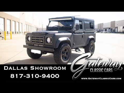 1985 Land Rover For Sale Gateway Classic Cars Dallas #1100