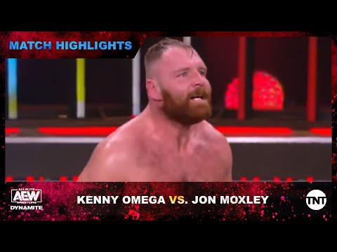 Kenny Omega and Jon Moxley Face Off In a 6 Man Tag Match on AEW Dynamite