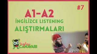 A1 A2 ingilizce Dinleme Alistirmalari Listening in English #7