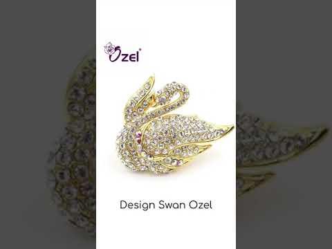 Design Swan Brooch Ozel 2021