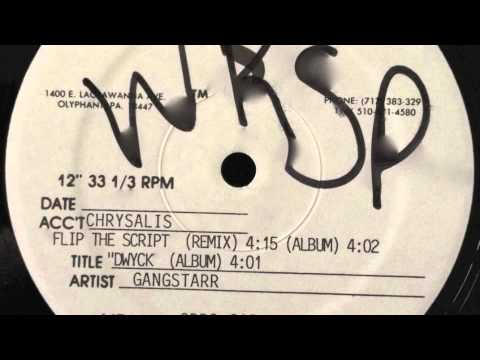 Gang Starr - Flip the Script (Test Press Remix)(Specialty Records Corp. 1992)