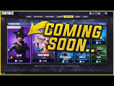 NEW Witch Skin is Coming in Halloween 2018 Fortnite Update?!