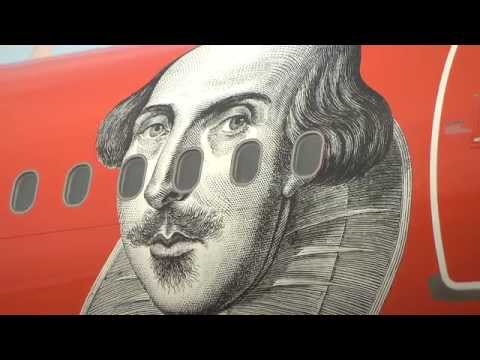 easyJet support national Shakespeare Day