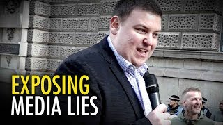 Exposing the media's lies about Tommy Robinson | Andrew Lawton