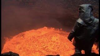 O quão quente é a lava de um Vulcão?