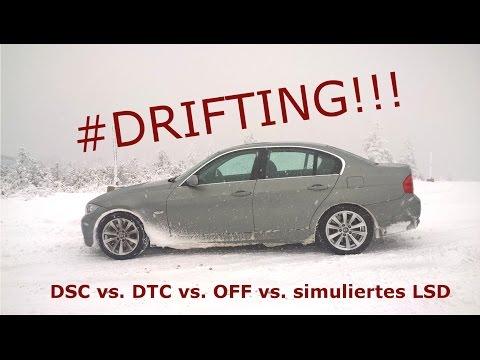 Test: DSC vs. DTC vs. OFF vs. LSD (simuliert) - Beschleunigung und Drift im Vergleich