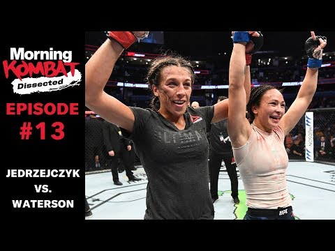 Joanna Jedrzejczyk's Career Evolution & Michelle Waterson Defeat | MORNING KOMBAT: DISSECTED | Ep 13