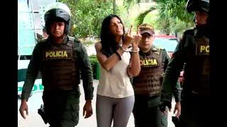 'Madame' llegó a audiencia por proxenetismo en Cartagena haciendo gestos obscenos | Noticias Caracol