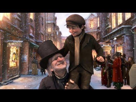 A Christmas Carol (2009) Movie - Jim Carrey & Gary Oldman