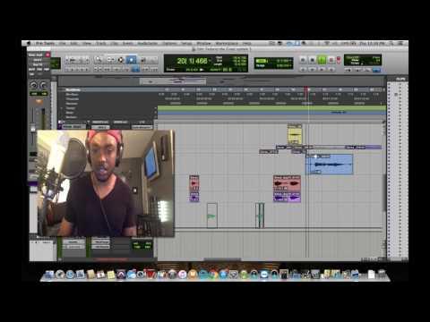 "Fedarro Working On RnB Record ""Ricochet"" on Pro Tools"
