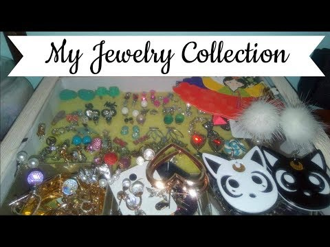 ♡ My Jewelry Collection ♡ Organisation & Storage ♡ DimitraDIY