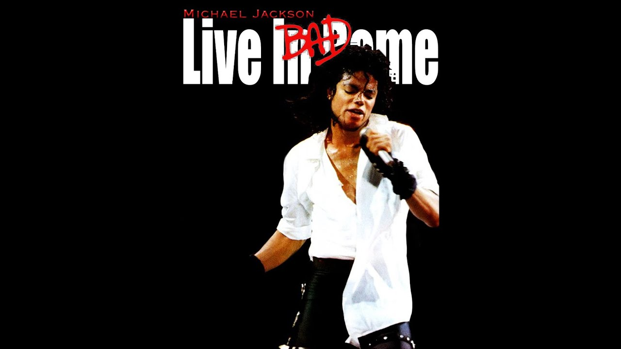 Michael Jackson - Live in Bad Tour Rome 1988 ( 3 Songs ...