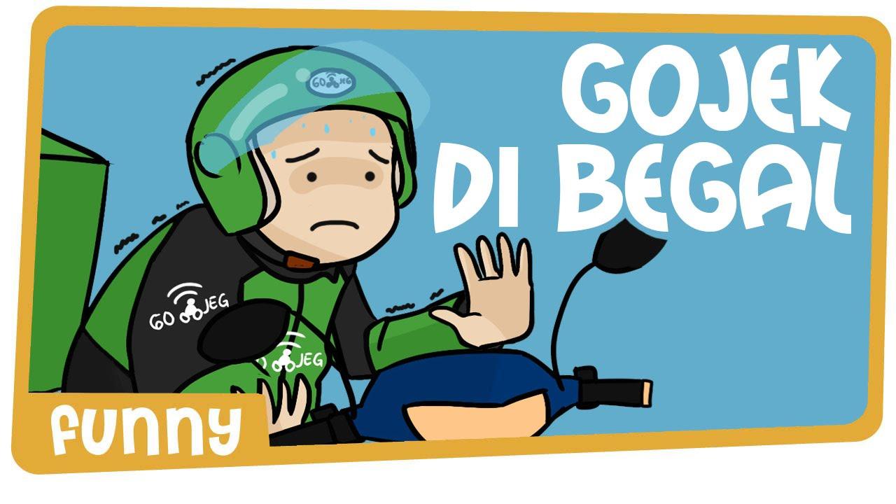 Gambar Kartun Lucu Gojek Komicbox