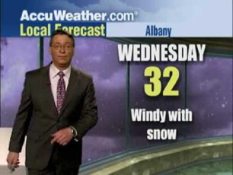 AccuWeather.com Albany Forecast with Jim Kosek