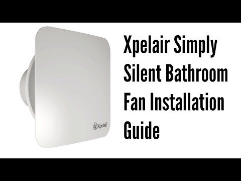 xpelair simply silent bathroom fan installation guide youtube rh youtube com xpelair simply silent wiring instructions