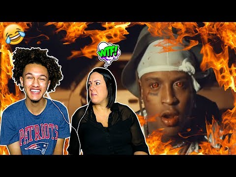 MOM REACTS TO SKI MASK THE SLUMP GOD!!
