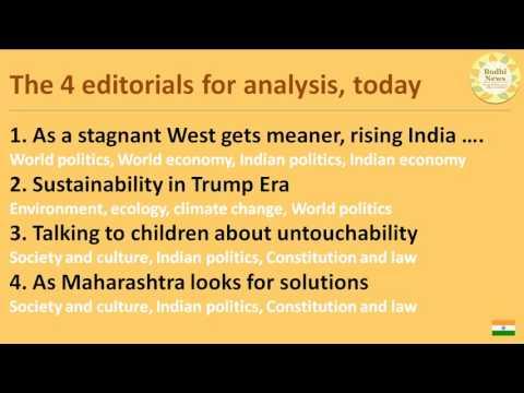 Bodhi News - 02-01-2017 - News Analysis