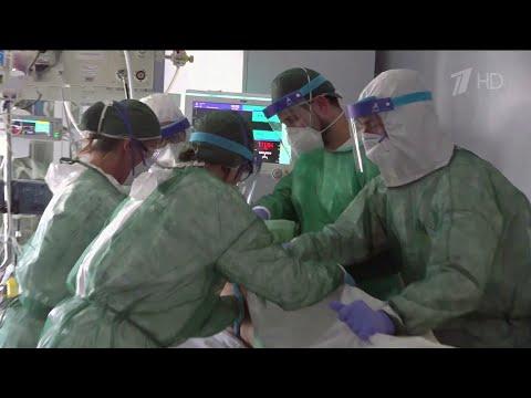 Число заболевших коронавирусной инфекцией во всем мире достигло почти 350 тысяч.