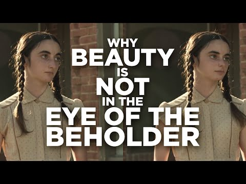 Why beauty is not in the eye of the beholder