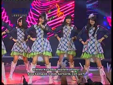 JKT48   Hissatsu Teleport+Lyric @ Mega Konser JKT48 RCTI 2012 07 17   YouTube