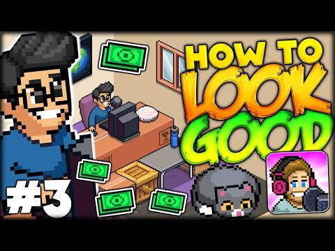 HOW TO MAKE YOUR ROOM AND CHARACTER LOOK GOOD? LEVEL UP!! (PewDiePie Tuber Simulator #3 Gameplay)