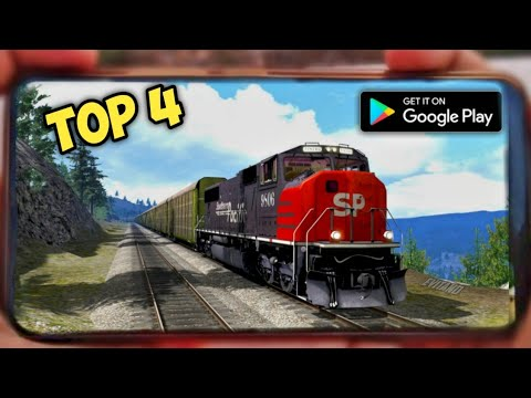 Top 4 Realistic Foriegn Train Simulators For Android | 2020 | Best Original Msts Clones