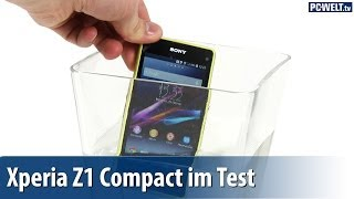 Klein, schnell, wasserdicht: Sony Xperia Z1 Compact im PC-WELT-Test | deutsch / german