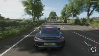 Forza Horizon 4 - 2018 Porsche 718 Cayman GTS Gameplay [4K]