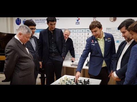 Three World Champions versus three Russian talents