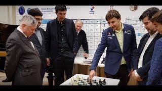 Three World Chions versus three Russian talents