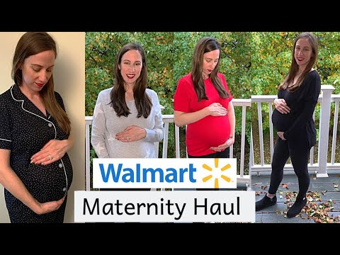 WALMART CLOTHING HAUL & TRY ON | MATERNITY FASHION WITH NON MATERNITY CLOTHES | MOM IN THE MAKING
