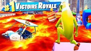 Le SOL c'est de la LAVE CHALLENGE ! FORTNITE Battle Royale !