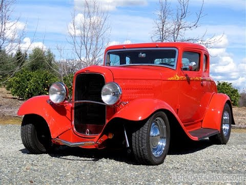 1932 Ford 5-Window Coupe Hotrod for Sale